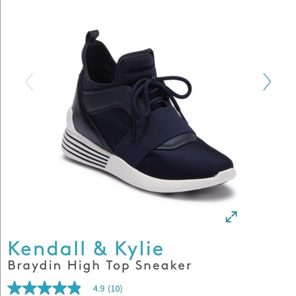 6f80661e4b2 Kendall   Kylie Shoes - Kendall and Kylie Braydin high top sneaker 9.5